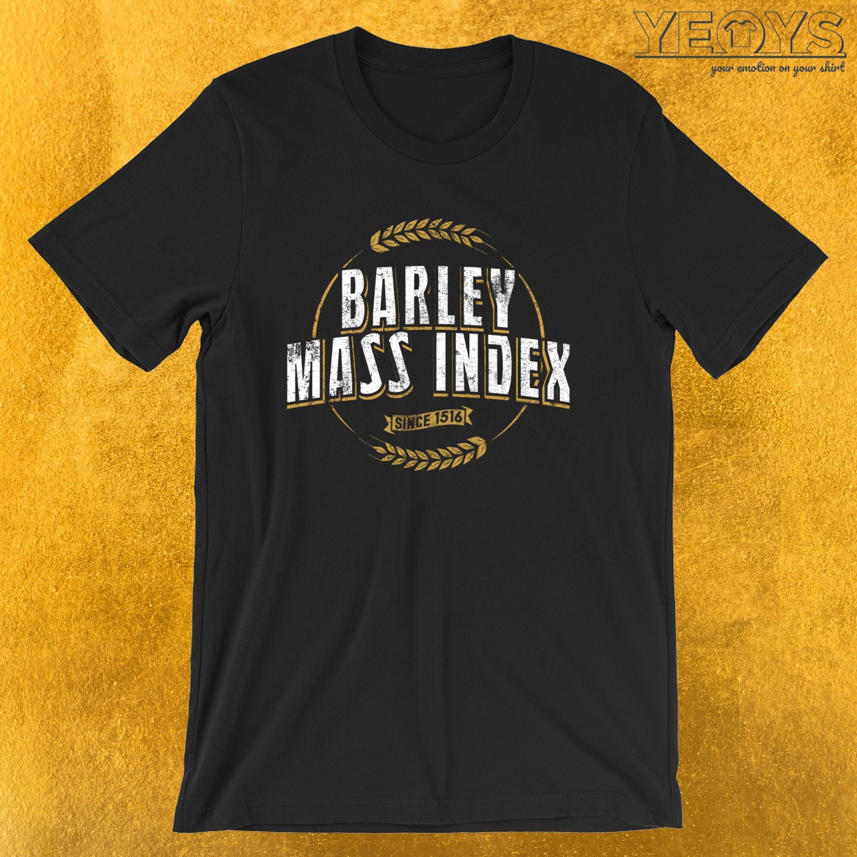 Barley Mass Index Since 1516 – Reinheitsgebot Tee