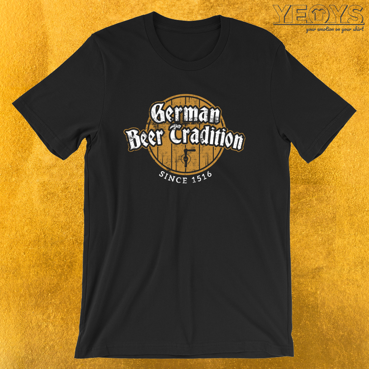 German Beer Tradition Since 1516 – Reinheitsgebot Tee