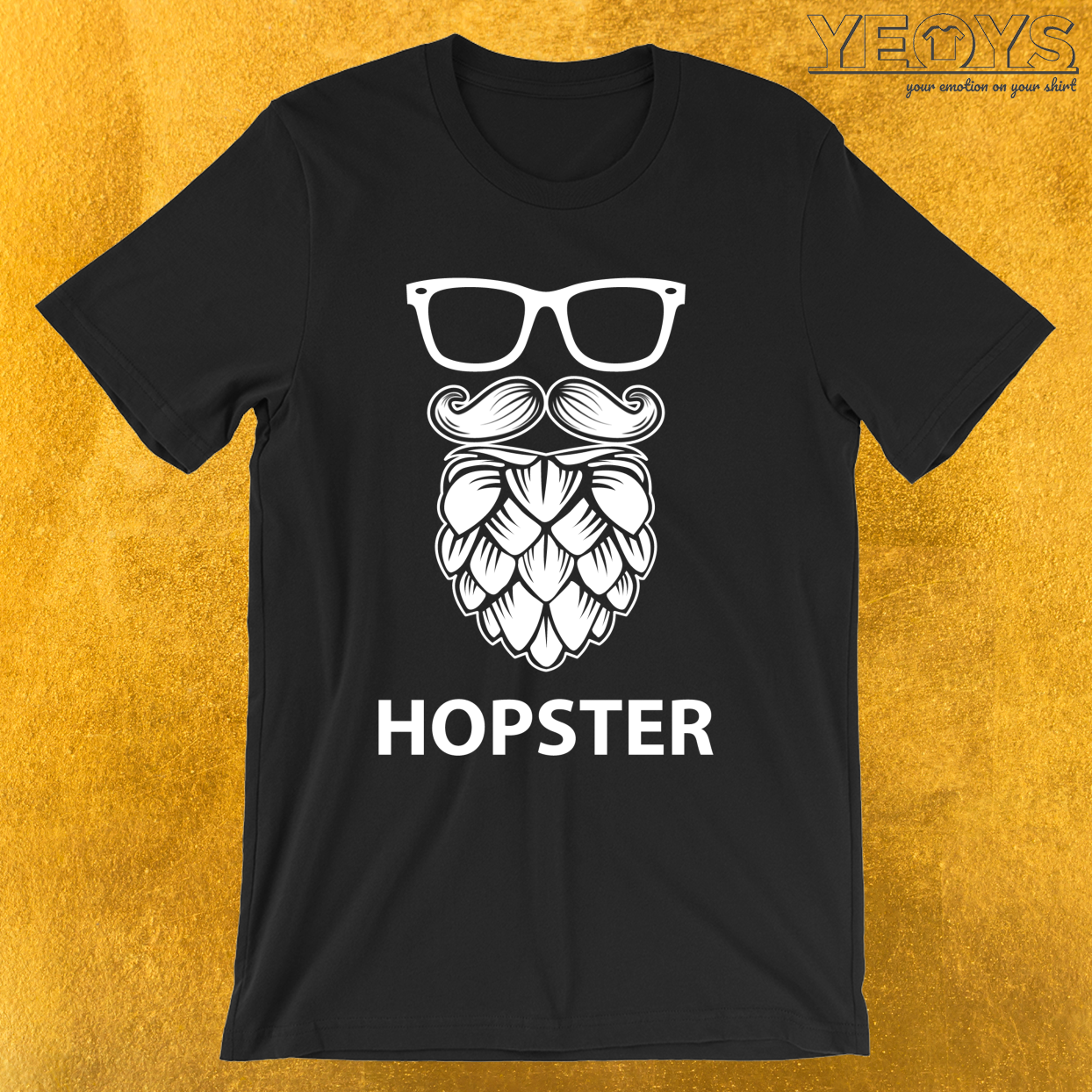 Hopster – Craft Beer Tee