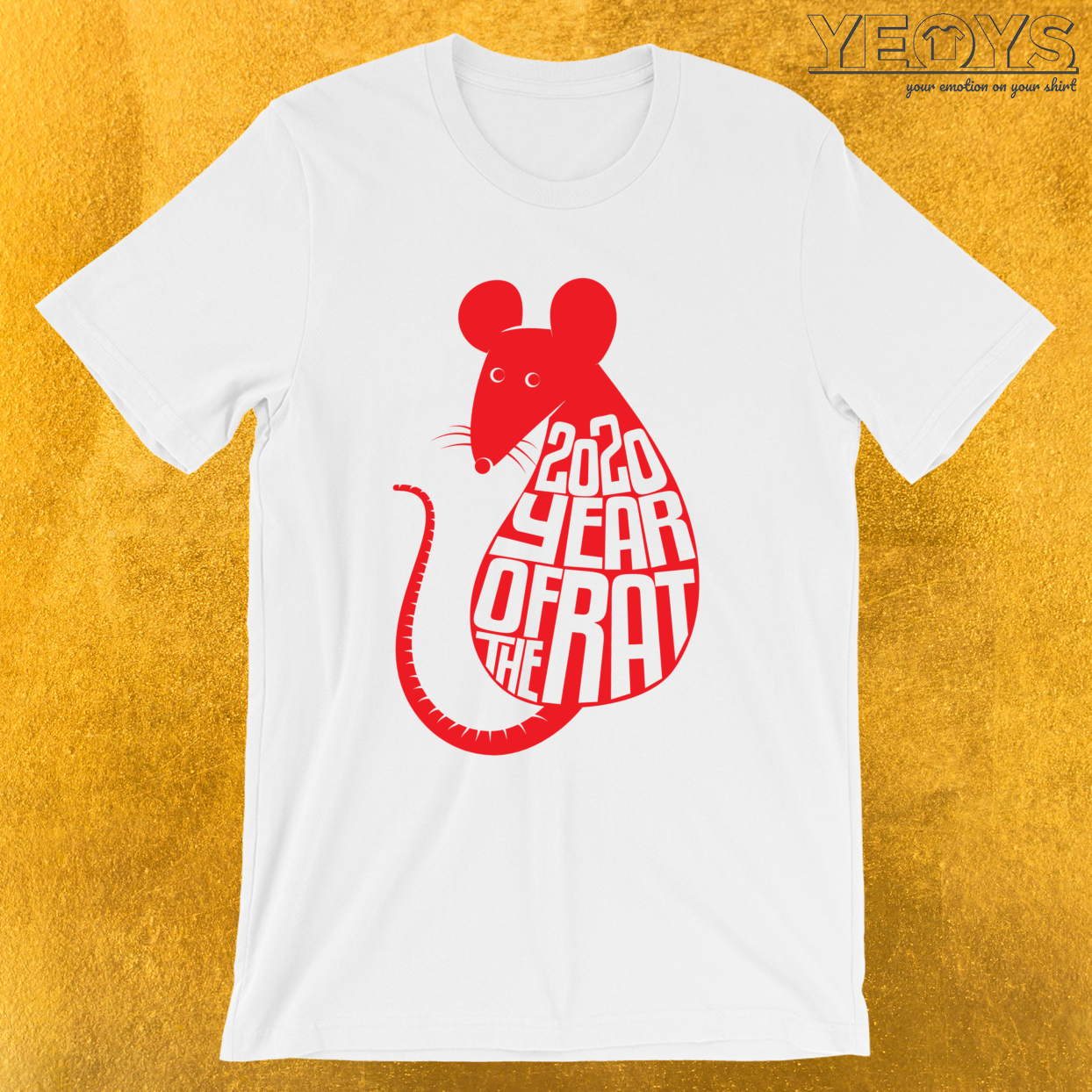 Chinese Zodiac – 2020 Year Of The Rat Tee