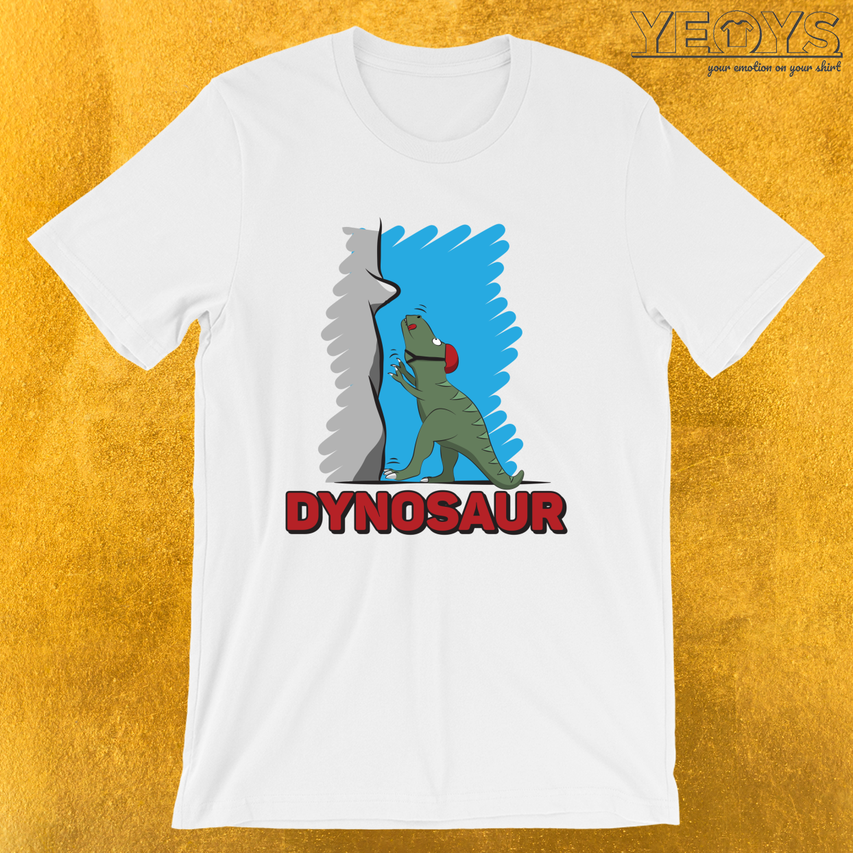 Dynosaur – Climbing & Boulder Tee