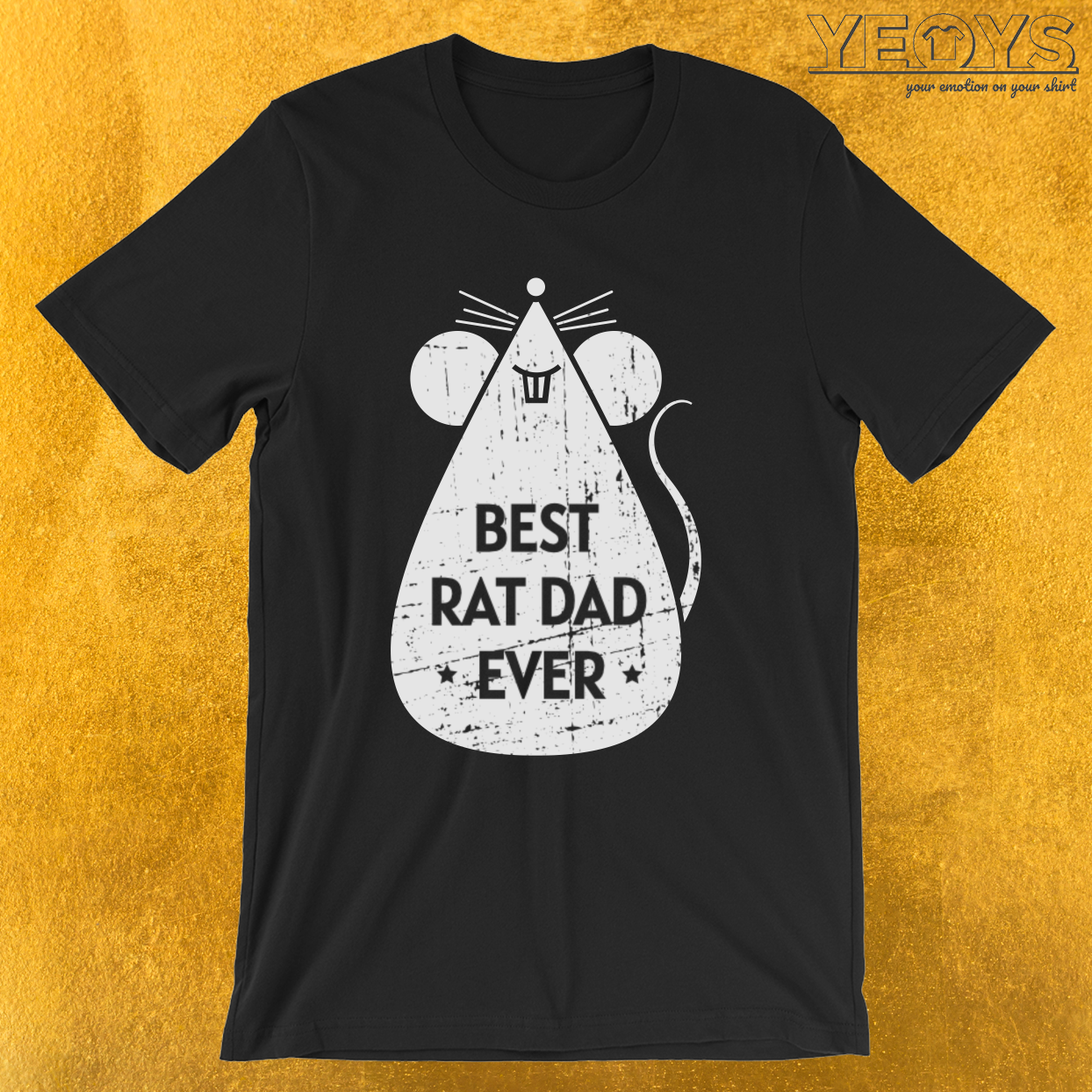 Best Rat Dad Ever – Cute Rat Tee