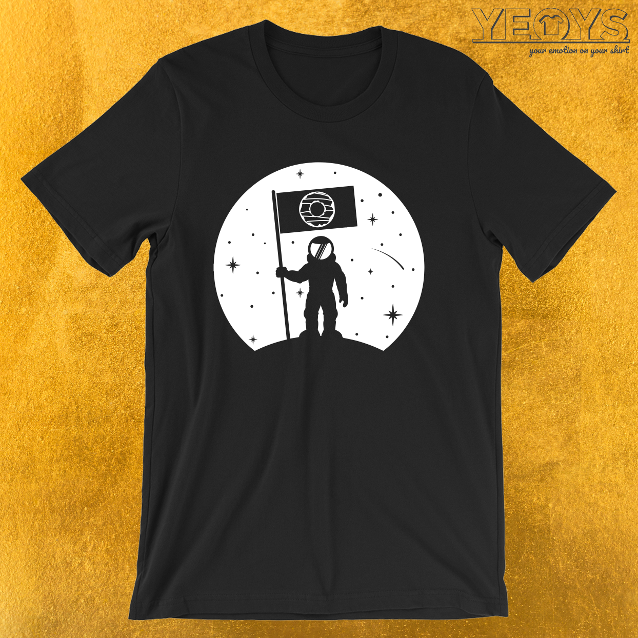 Moon Flag Donut – Moon Landing Tee
