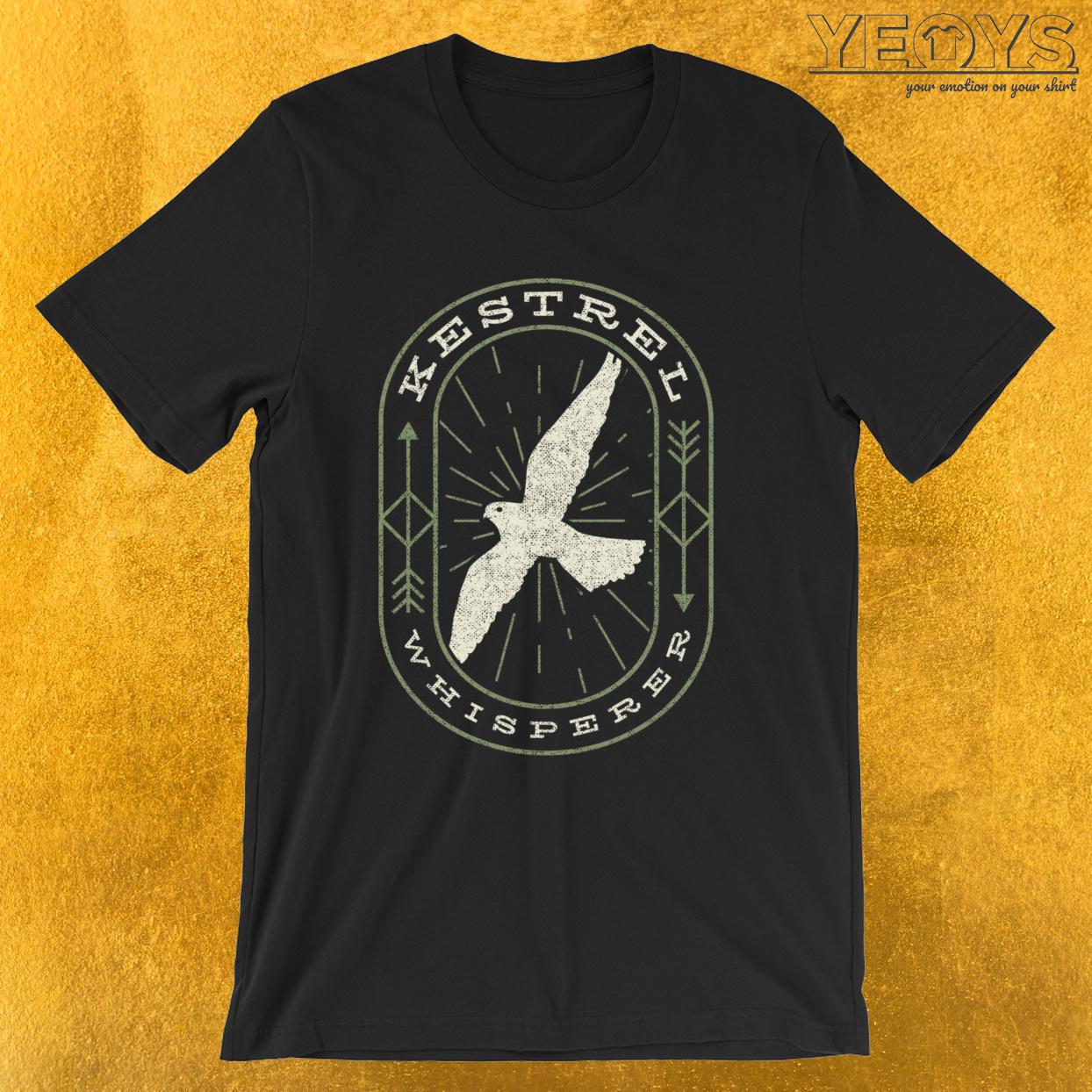 Kestrel Whisperer – Funny Birding Tee