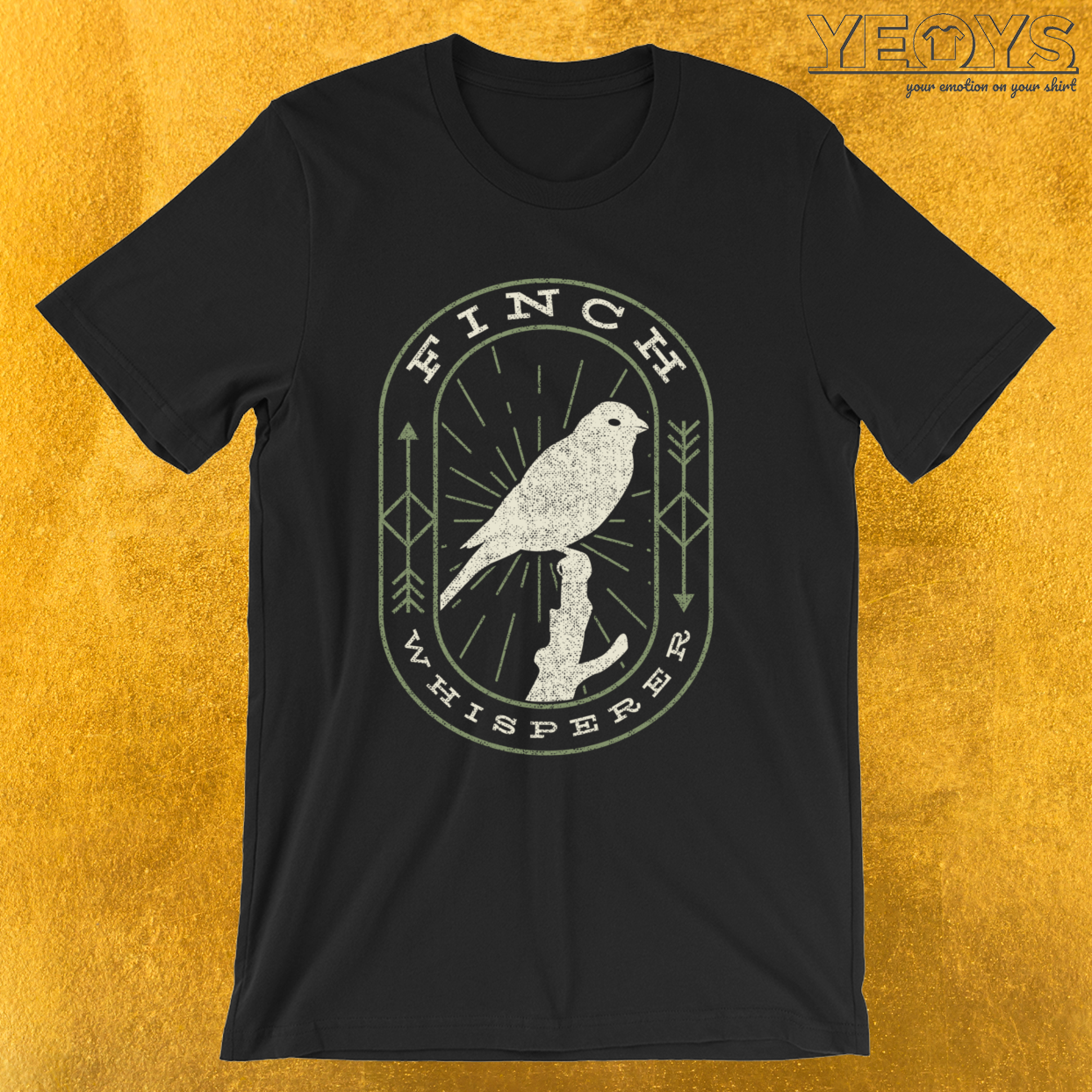 Finch Whisperer – Bird Watching Tee
