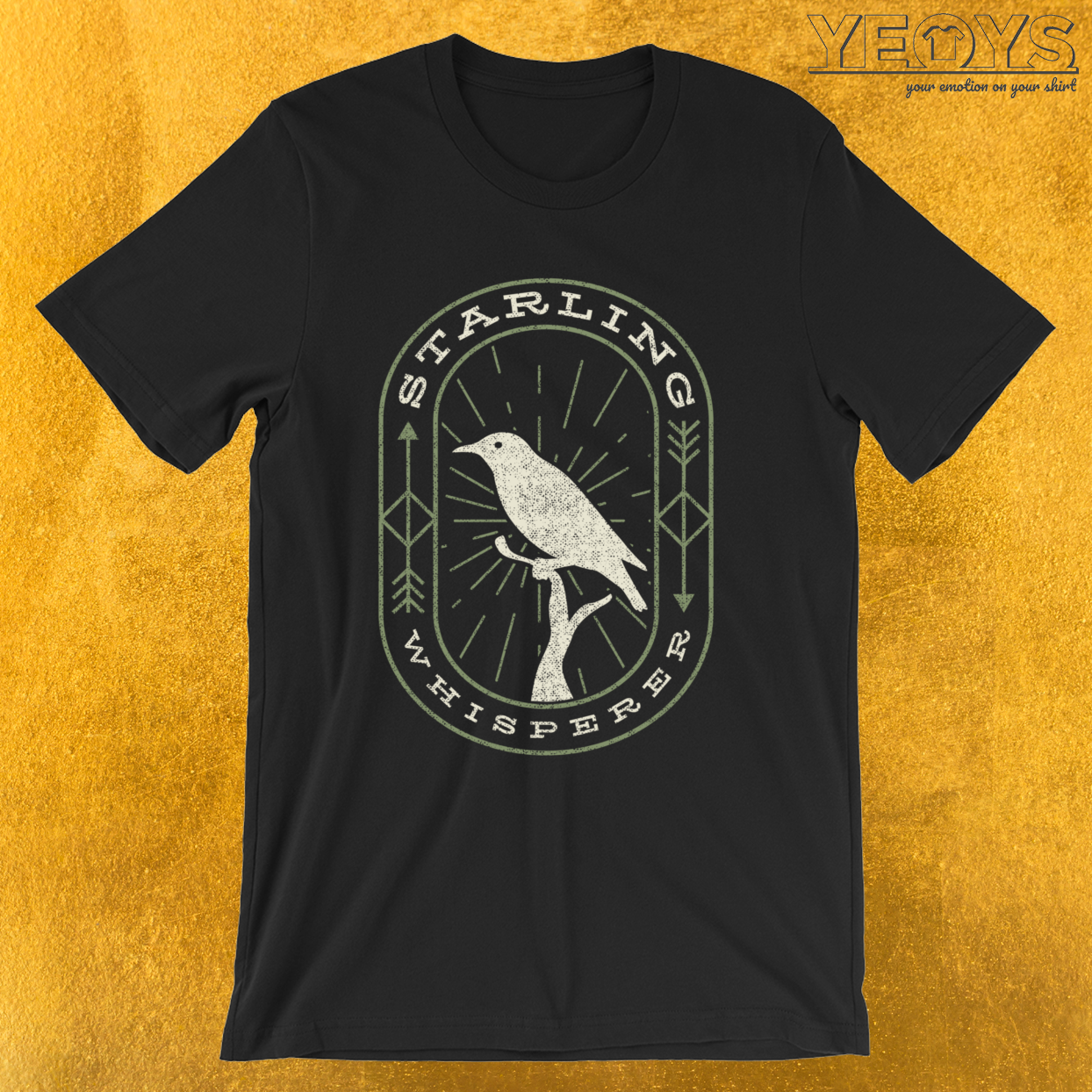 Starling Whisperer – Bird Watching Tee