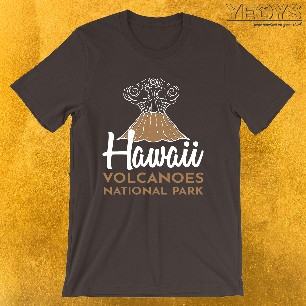 Hawaii Volcanoes National Park – Lava Volcano Tee
