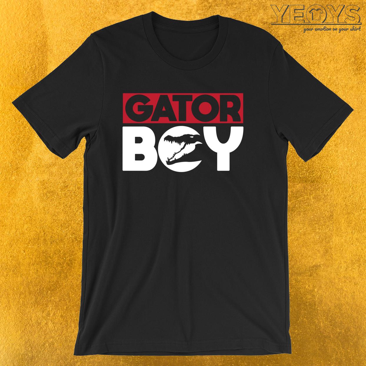 Gator Boy – Reptile Party Alligator Tee
