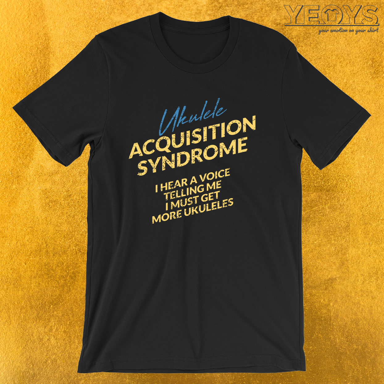 Ukulele Acquisition Syndrome – Ukulele Guitar Tee