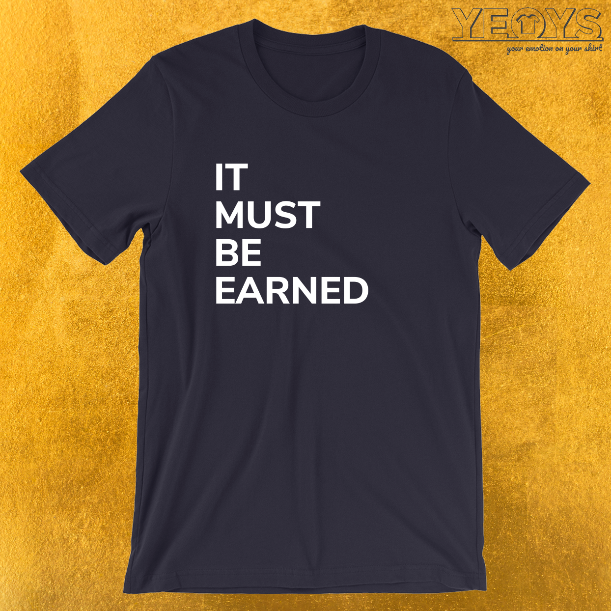 It Must Be Earned – Girl & Boy Scout Tee