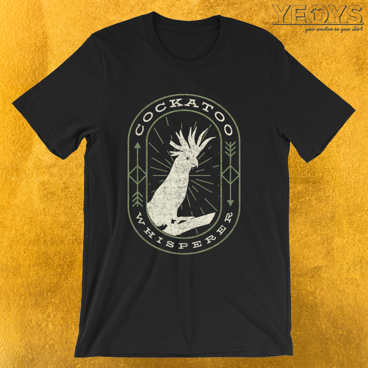 Cockatoo Whisperer – Funny Parrot Cockatoo Tee