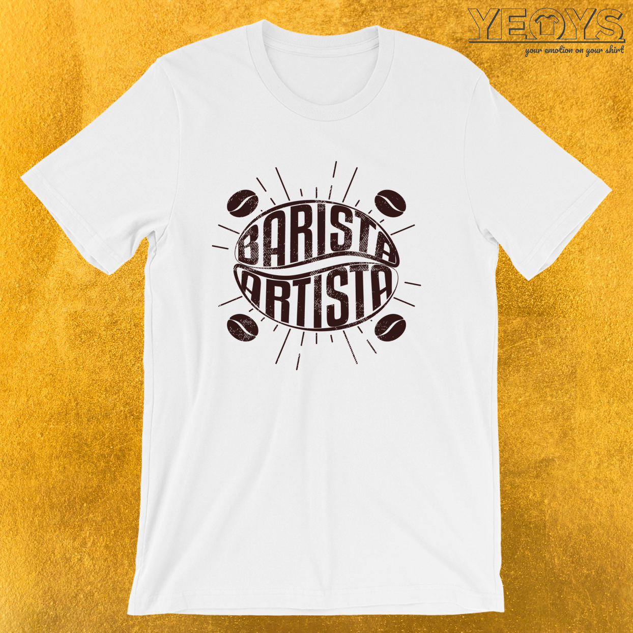 Barista Artista – Barista Art Life Tee
