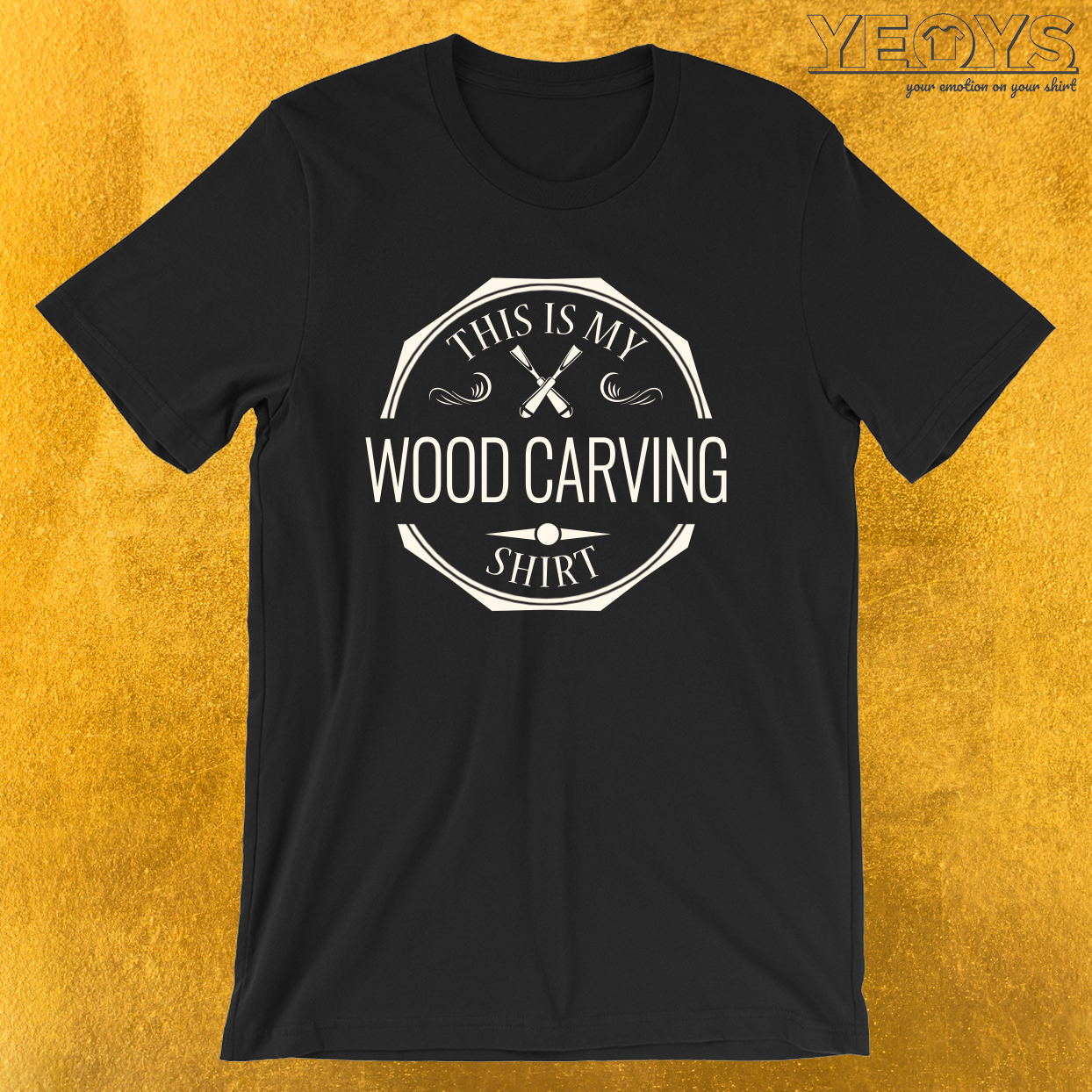This Is My Wood Carving Shirt – Whittle Wood Tee