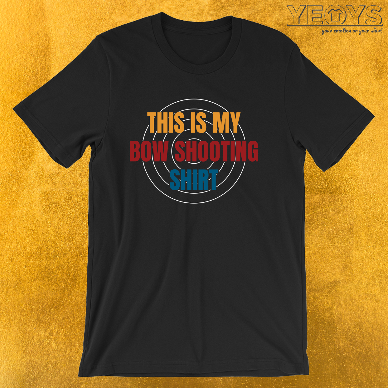 This Is My Bow Shooting Shirt – USA Archery Tee