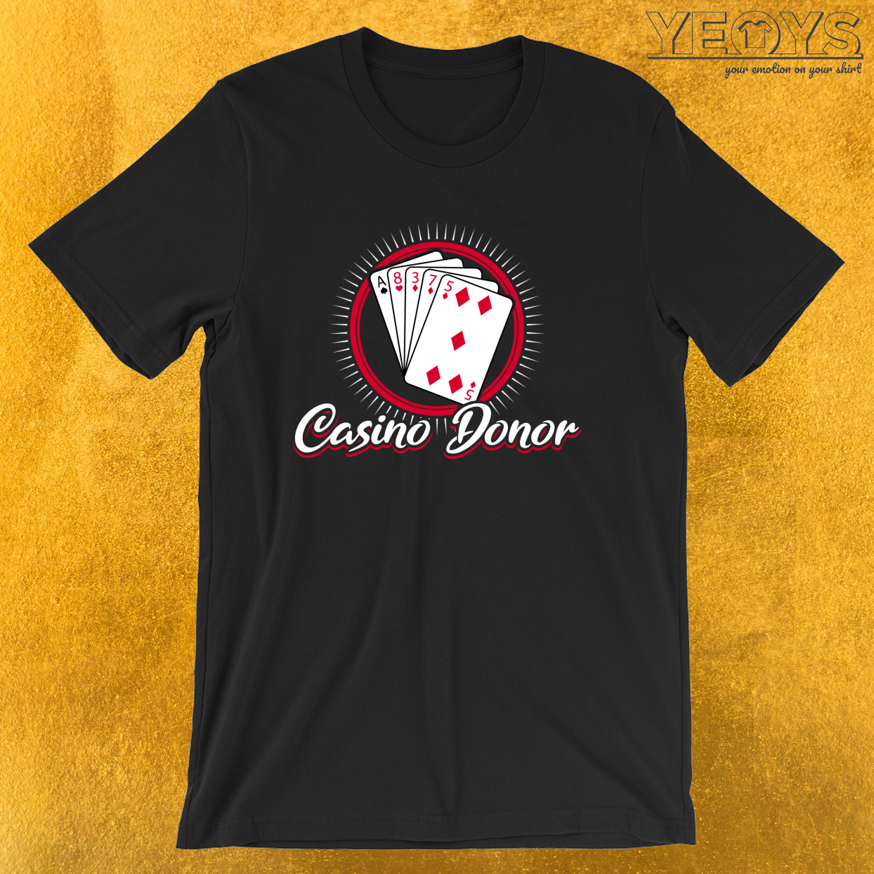 Casino Donor – Casino Tee