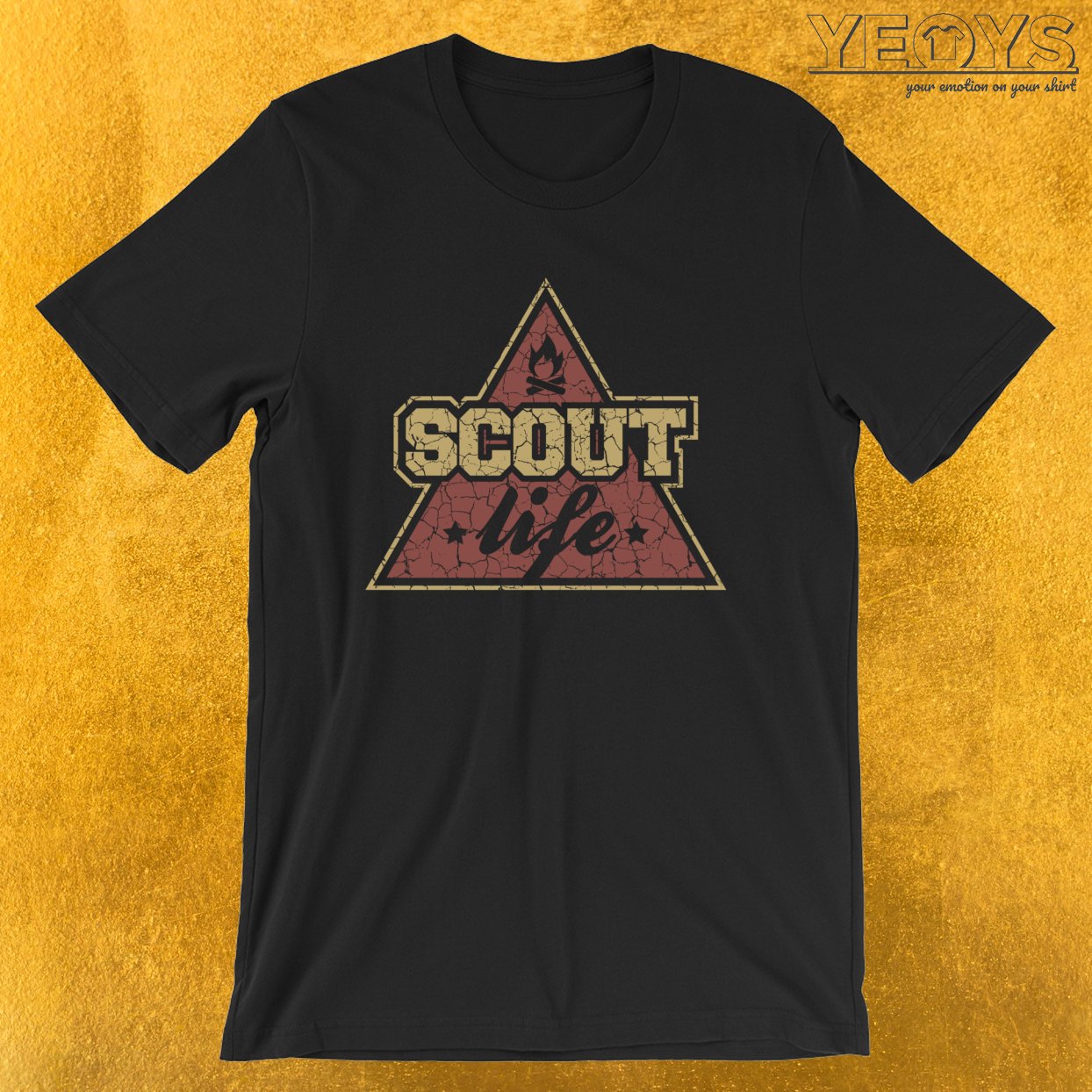 Scout Life – Girl & Boy Scout Tee