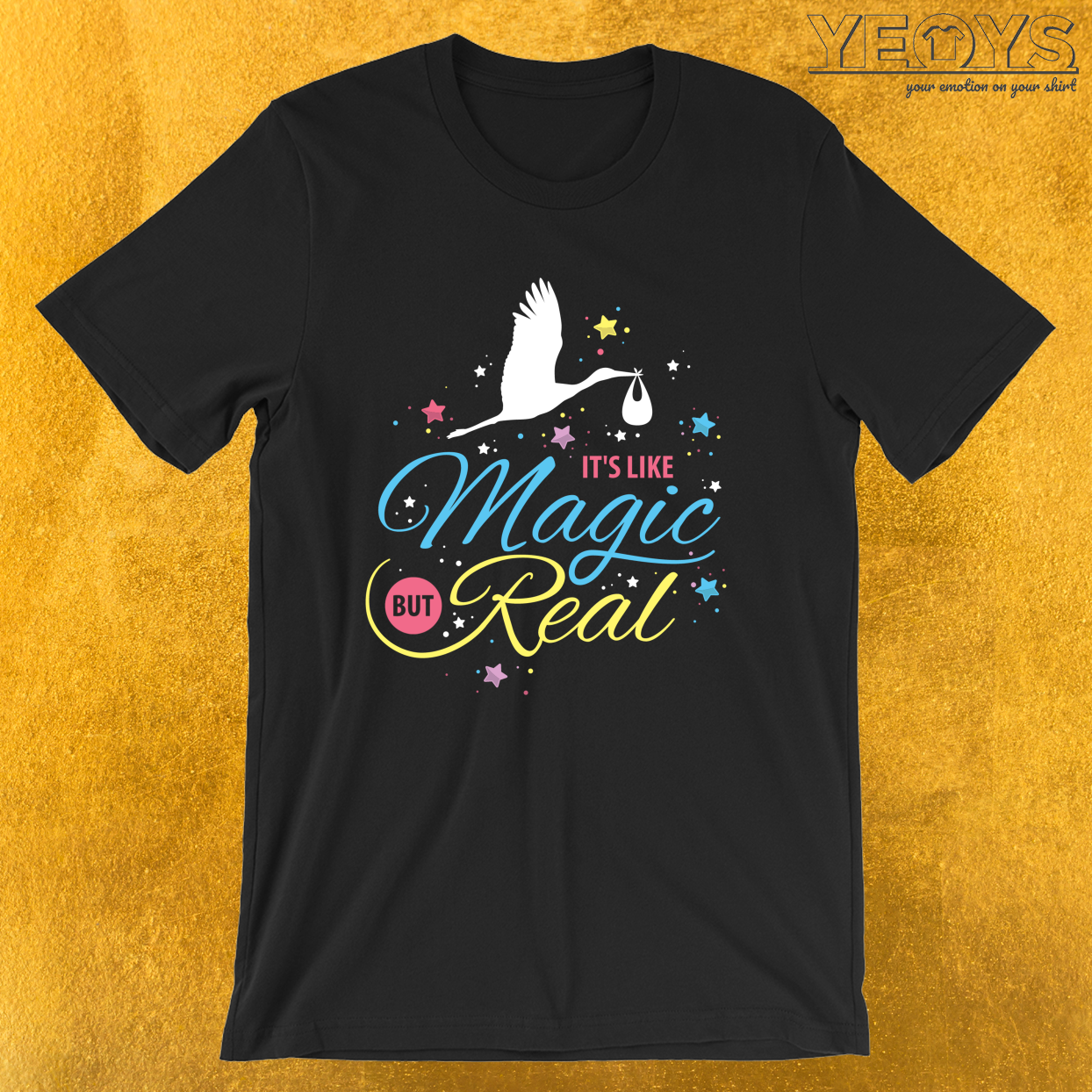 It's Like Magic But Real – Cute midwife Tee
