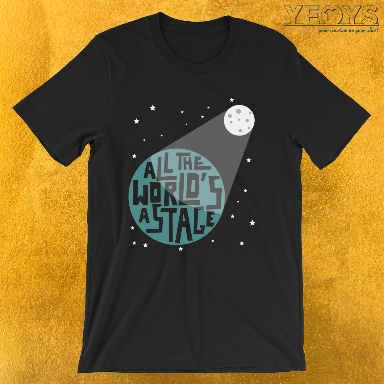 All The World's A Stage – Rama Nerd Theater Lover Theatre Tee