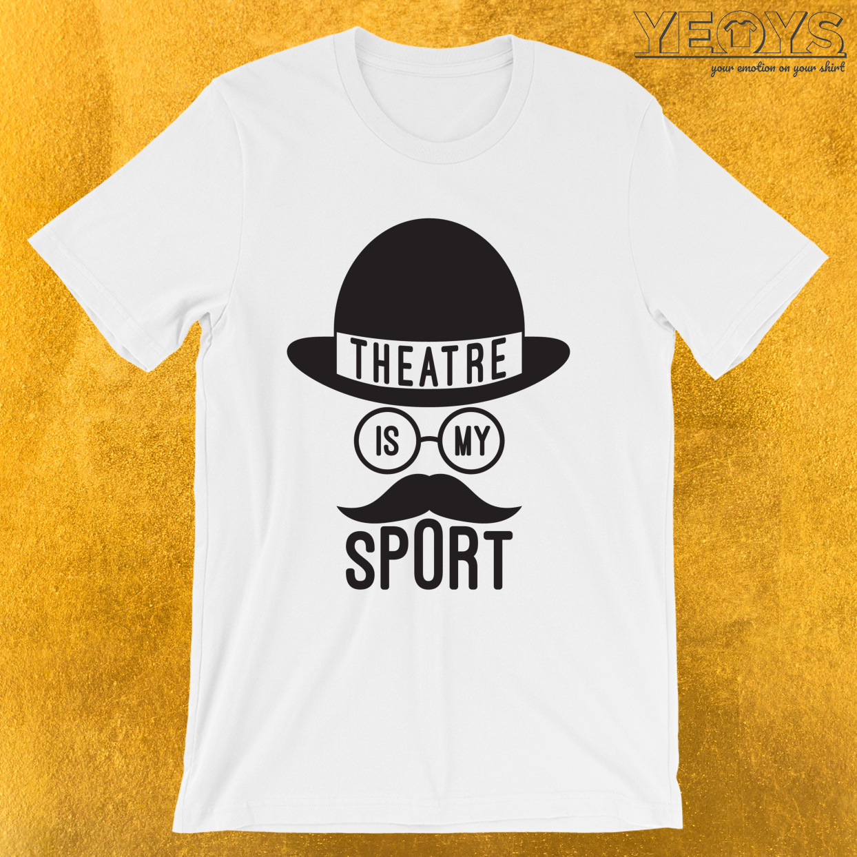 Theater Is My Sport – Rama Nerd Theater Lover Theatre Tee