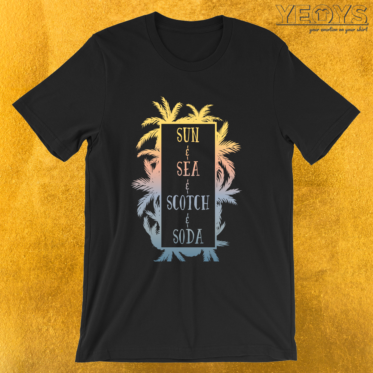 Sun& Sea& Scotch& Soda. – Scotch And Soda Tee