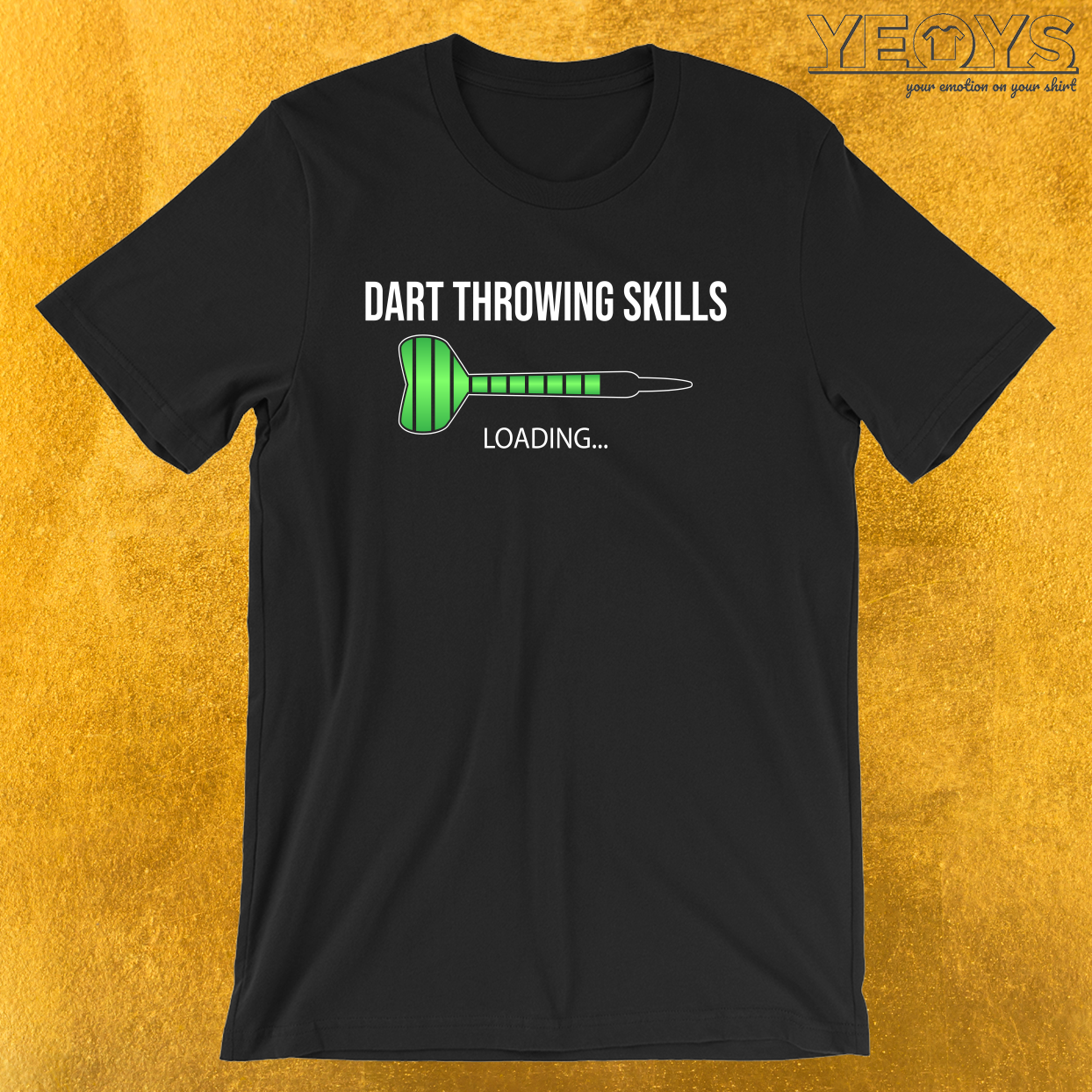 Dart Throwing Skills Loading… – Dart Loading Tee